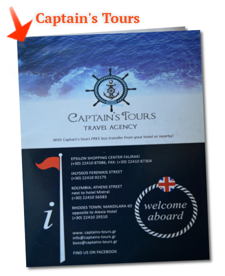 Captains Tours Excursions Croisières Brochure