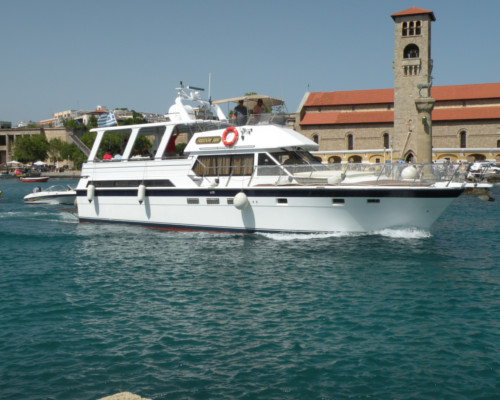 Freedom S&M Motorized Boat | Rhodes Greece
