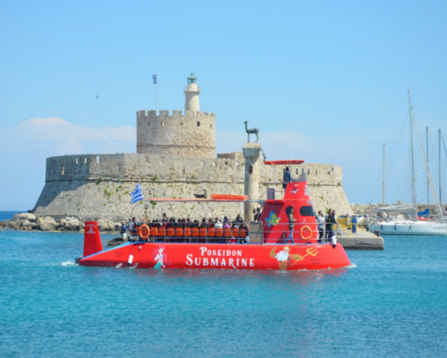 Poseidon Submarine | Rhodes Greece