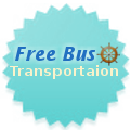 Free bus transportation for all cruise guests | Captain's Tours