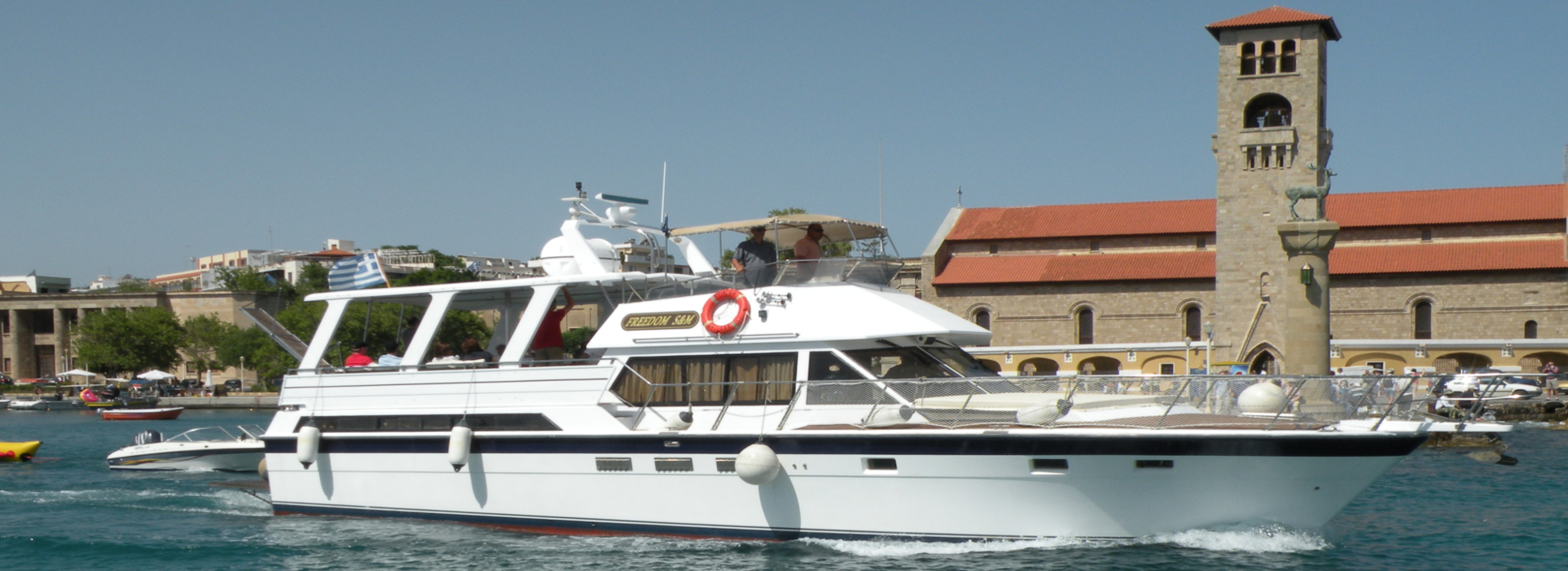 Freedom S&M motorboot te huur in Rhodos | Captains Tours