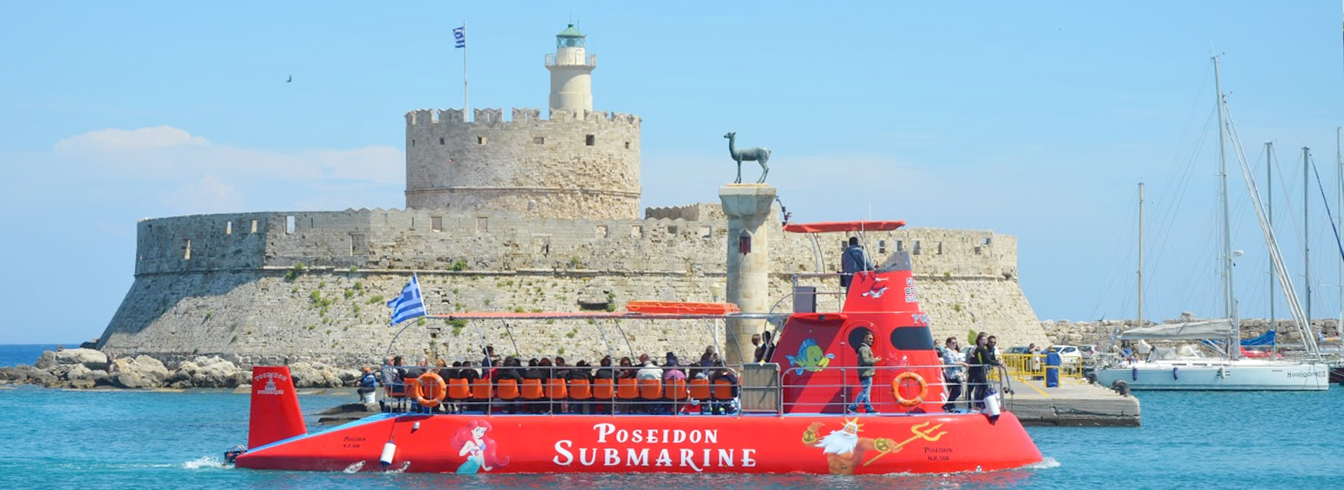 Poseidon Submarine Rhodes | Captains Tours