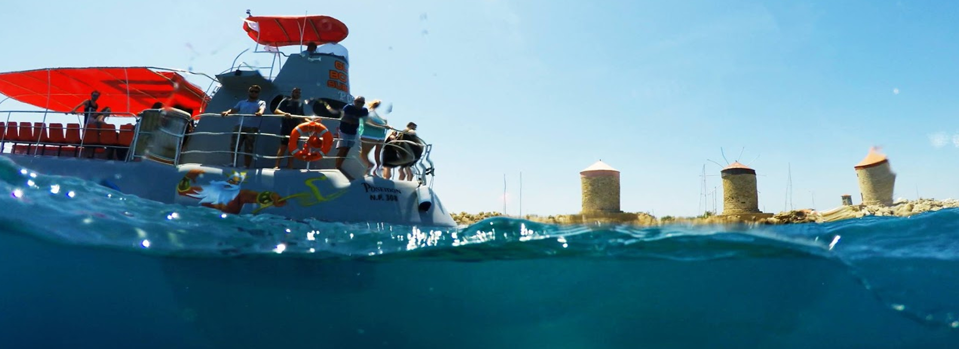 Poseidon Submarine | Captains Tours