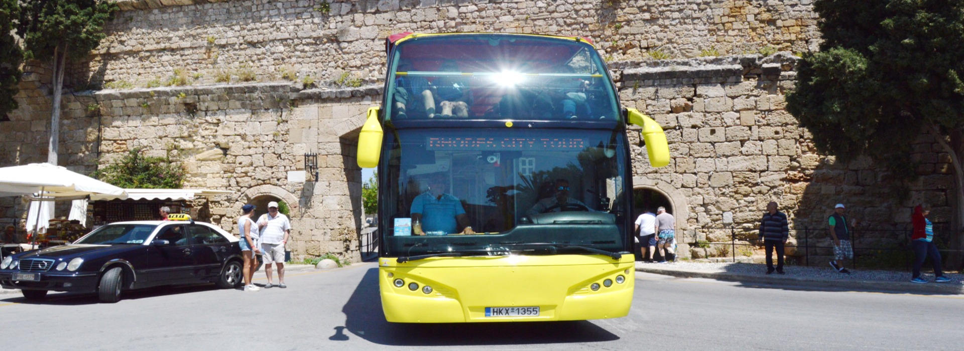 Rhodos-stadstour met open bus | Captains Tours