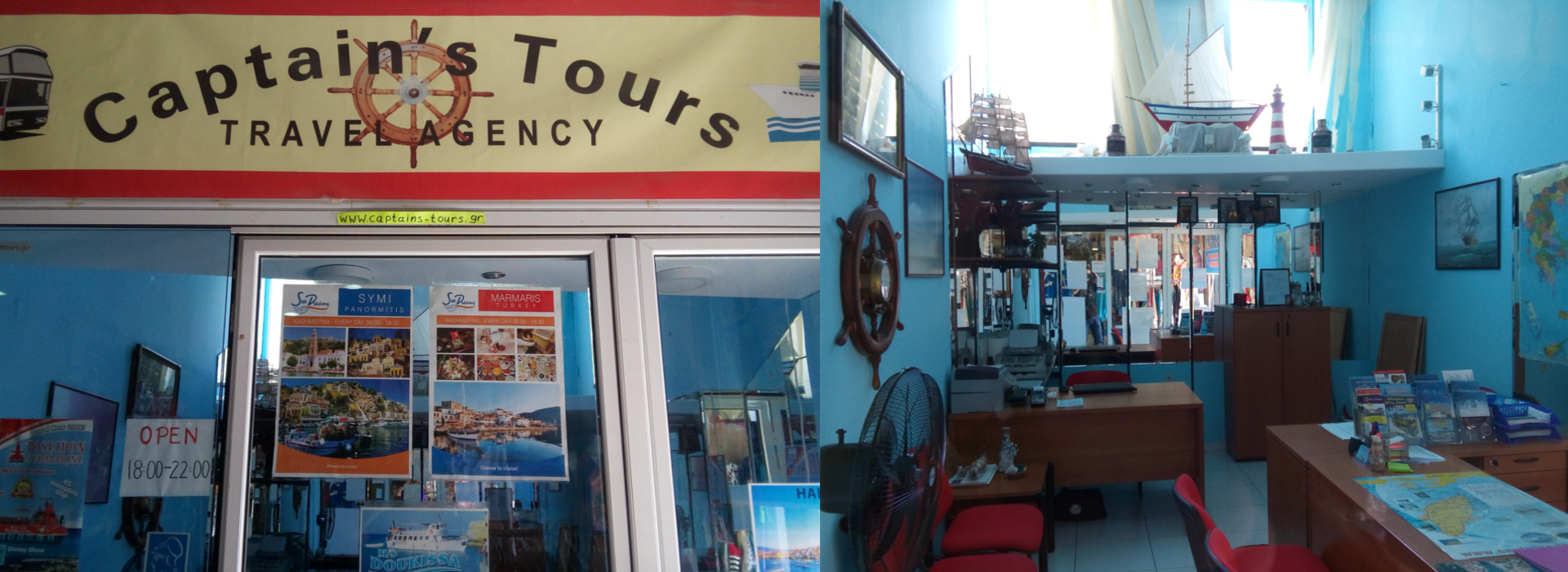 Captain's Tours Travel Agency | Over ons bedrijf