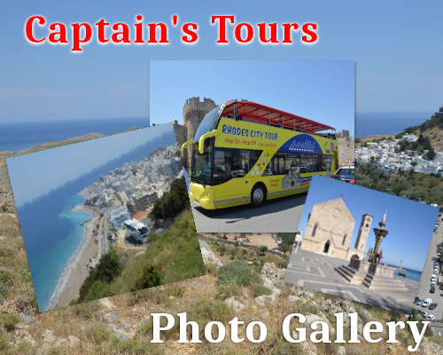 Photo Gallery | Captains Tours Rhodes Greece