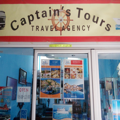 Captain's Tours Rhodes Travel Agency Greece